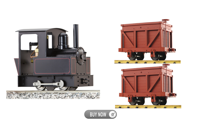 Buy One Dora<br>Get Two Free Iron Mtn Coal Cars<br>Offer ends Sep-30, 2016