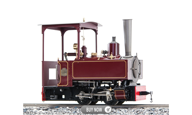 Decauvile, Live Steam<br>1:13.7 Scale, 45mm Gauge