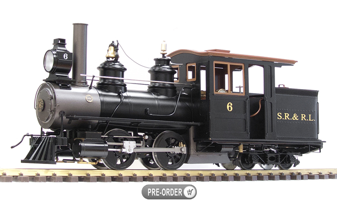 SR & RL Forney #6<br>1:13.7 Scale, 45mm Gauge
